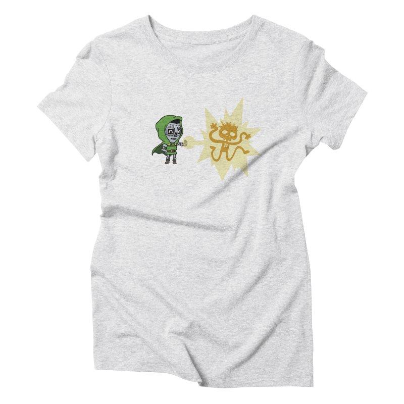 Dr Doom, P.H.D. Women's Triblend T-Shirt by Sketchbookery!