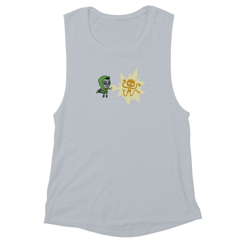 Dr Doom, P.H.D. Women's Muscle Tank by Sketchbookery!
