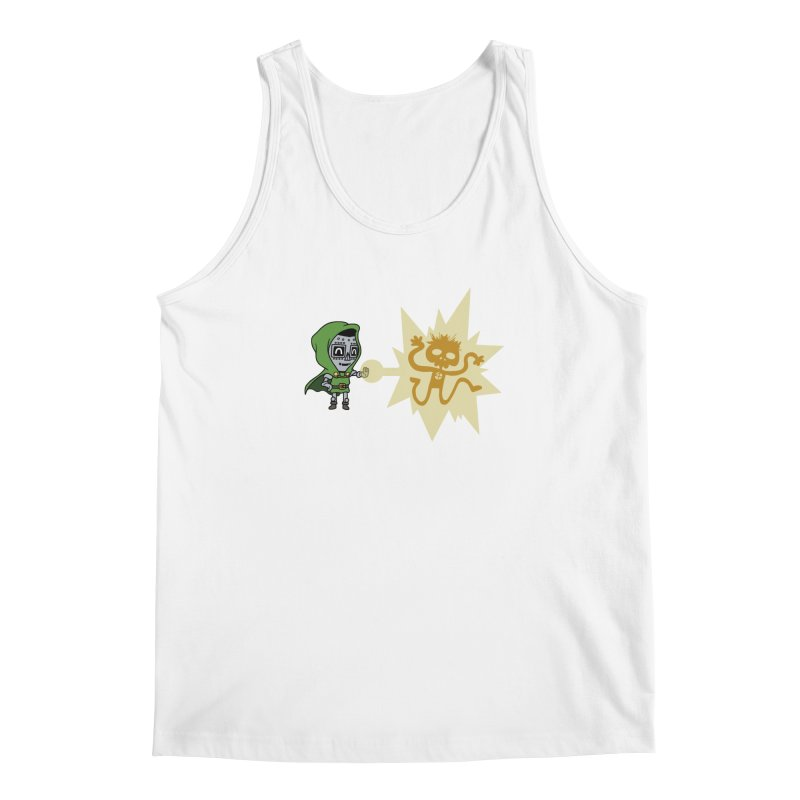 Dr Doom, P.H.D. Men's Tank by Sketchbookery!