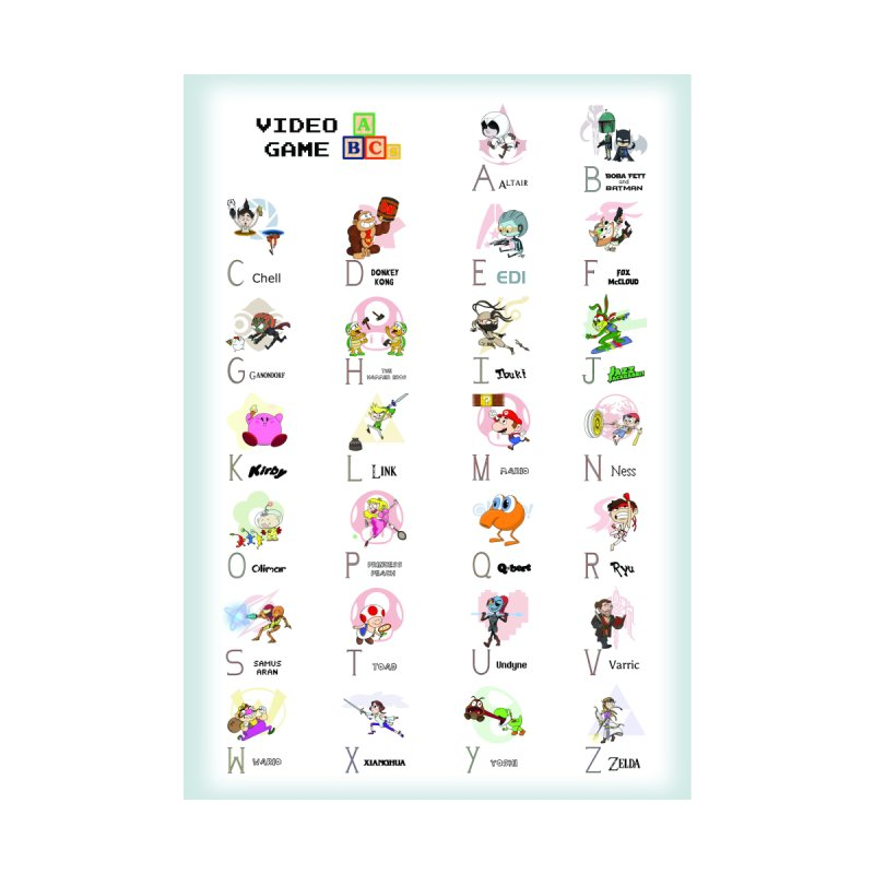 Video Game ABCs   by Sketchbookery!