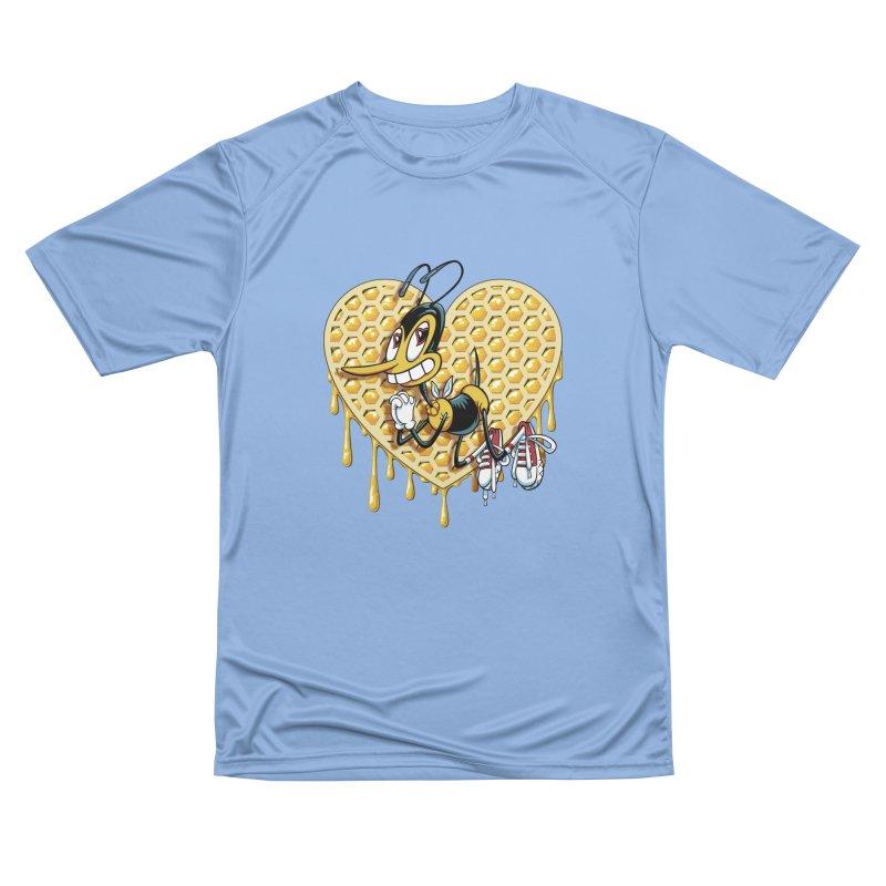 Honeycomb Heart Men's T-Shirt by bennygraphix's Artist Shop