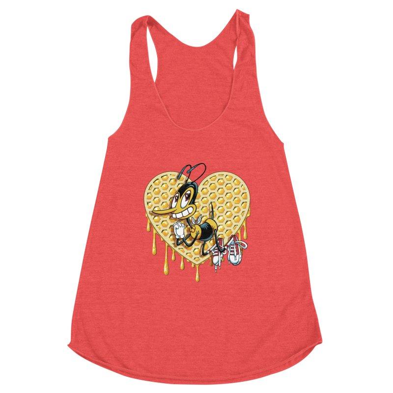 Honeycomb Heart Women's Tank by bennygraphix's Artist Shop