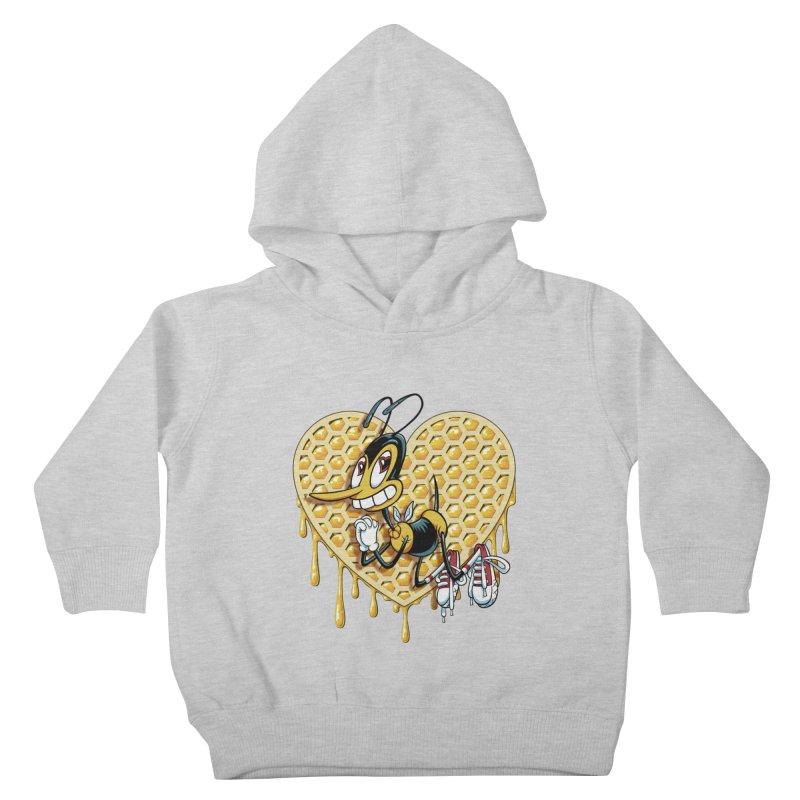 Honeycomb Heart Kids Toddler Pullover Hoody by bennygraphix's Artist Shop