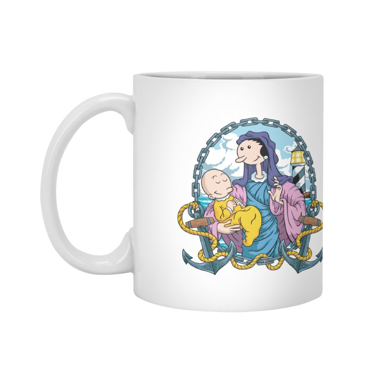 Virgin Olive Oyl Accessories Mug by bennygraphix's Artist Shop