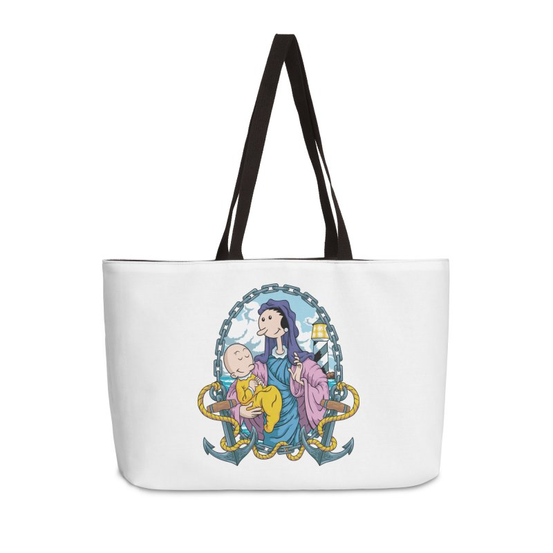 Virgin Olive Oyl Accessories Weekender Bag Bag by bennygraphix's Artist Shop