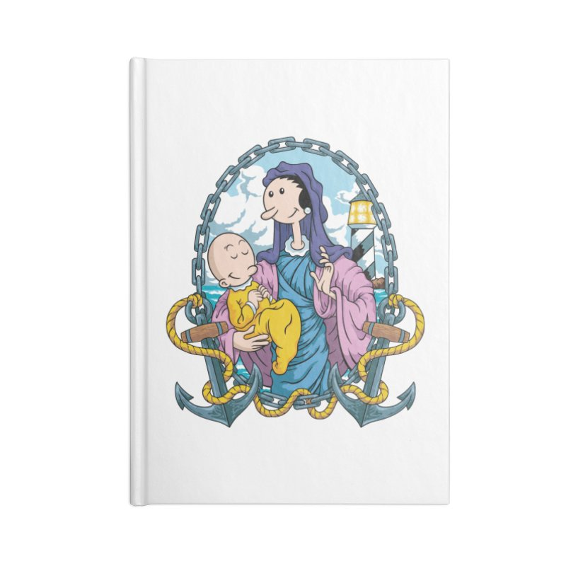 Virgin Olive Oyl Accessories Notebook by bennygraphix's Artist Shop