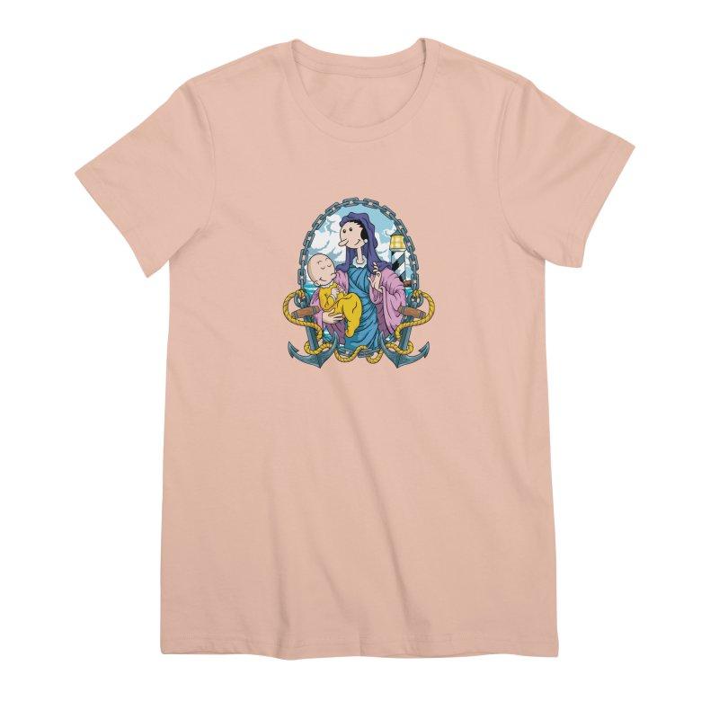 Virgin Olive Oyl Women's Premium T-Shirt by bennygraphix's Artist Shop