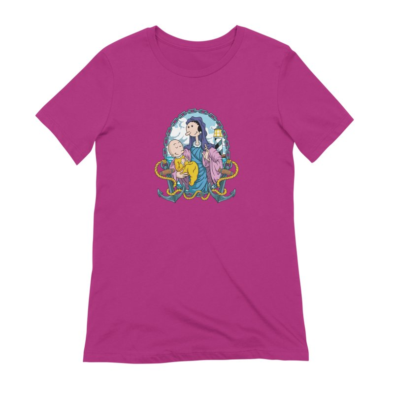 Virgin Olive Oyl Women's Extra Soft T-Shirt by bennygraphix's Artist Shop