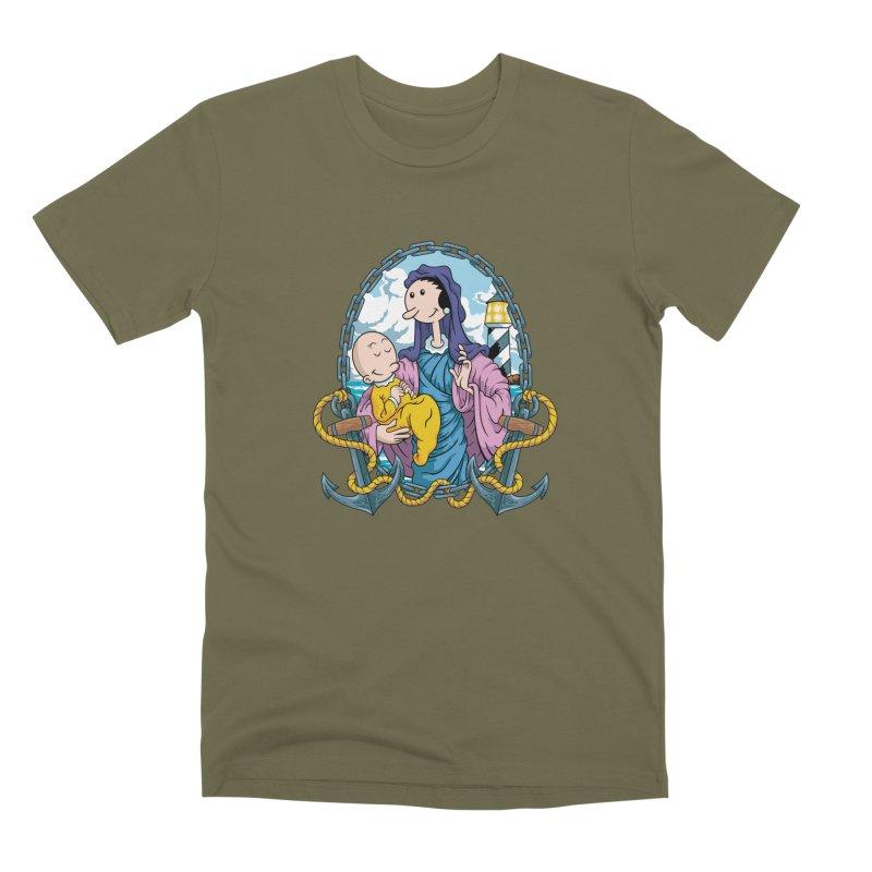 Virgin Olive Oyl Men's Premium T-Shirt by bennygraphix's Artist Shop
