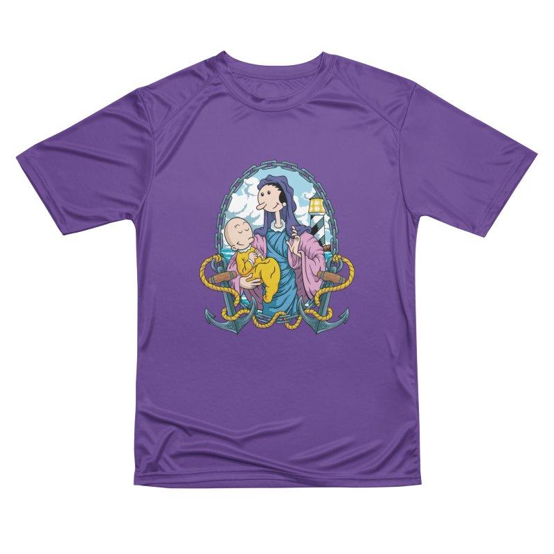 Virgin Olive Oyl Women's Performance Unisex T-Shirt by bennygraphix's Artist Shop