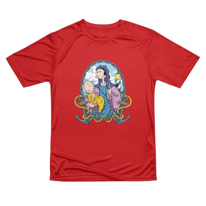 Virgin Olive Oyl Men's Performance T-Shirt by bennygraphix's Artist Shop