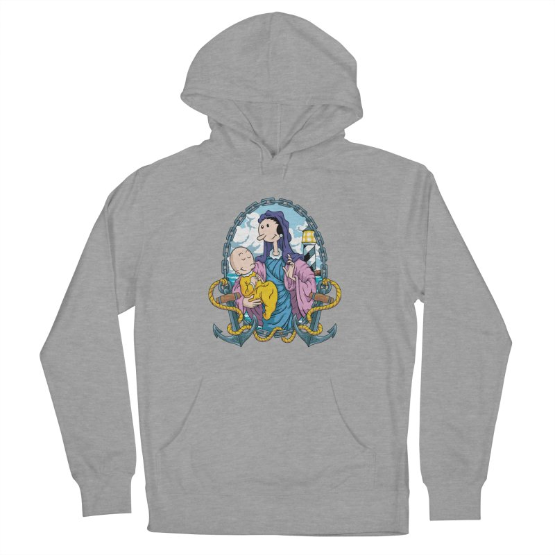 Virgin Olive Oyl Women's French Terry Pullover Hoody by bennygraphix's Artist Shop