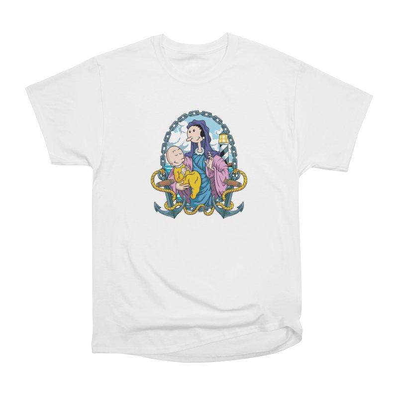 Virgin Olive Oyl Women's Heavyweight Unisex T-Shirt by bennygraphix's Artist Shop