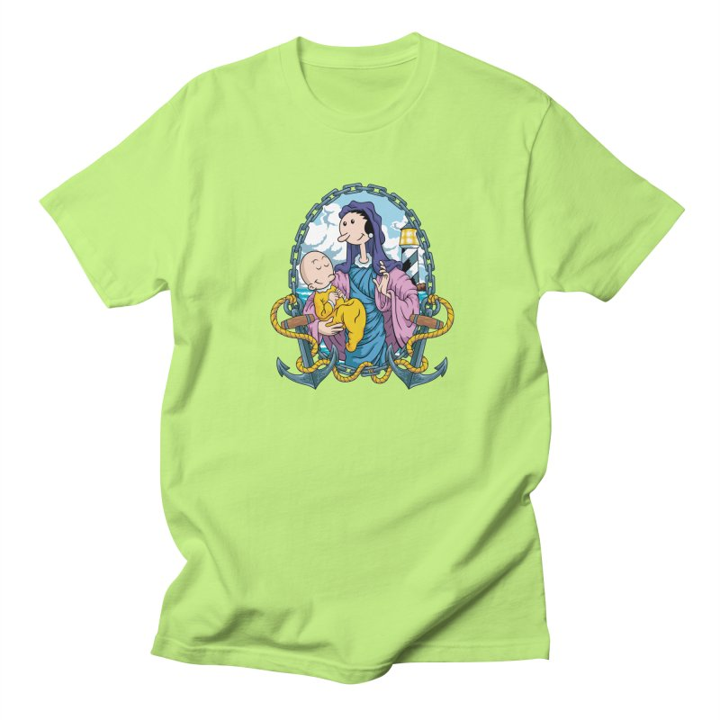 Virgin Olive Oyl Men's Regular T-Shirt by bennygraphix's Artist Shop