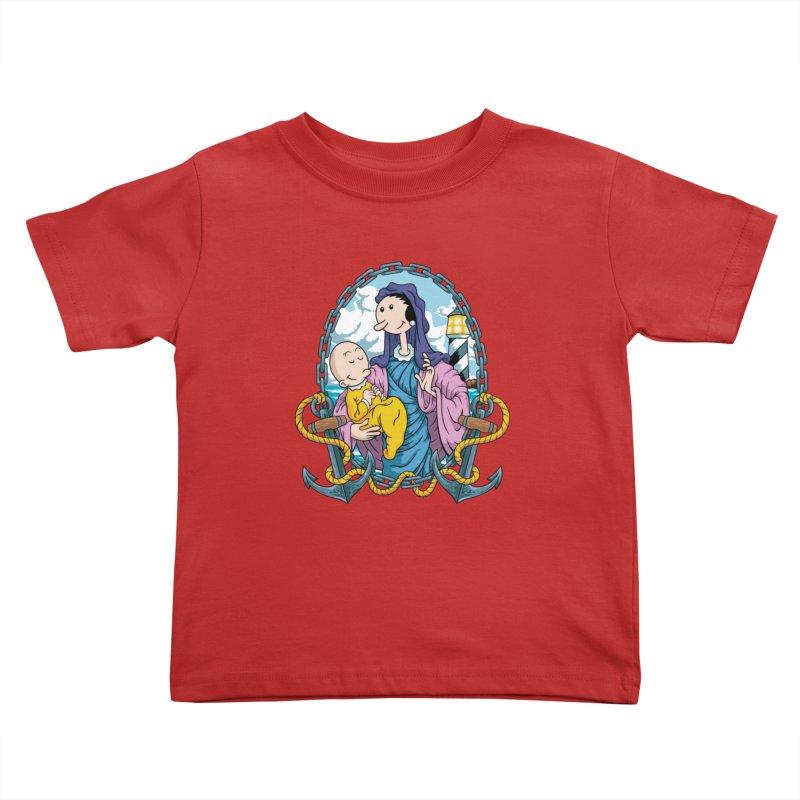 Virgin Olive Oyl Kids Toddler T-Shirt by bennygraphix's Artist Shop