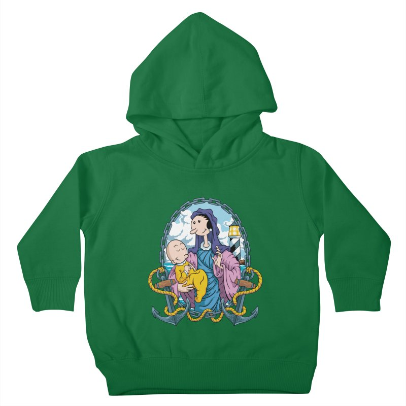 Virgin Olive Oyl Kids Toddler Pullover Hoody by bennygraphix's Artist Shop