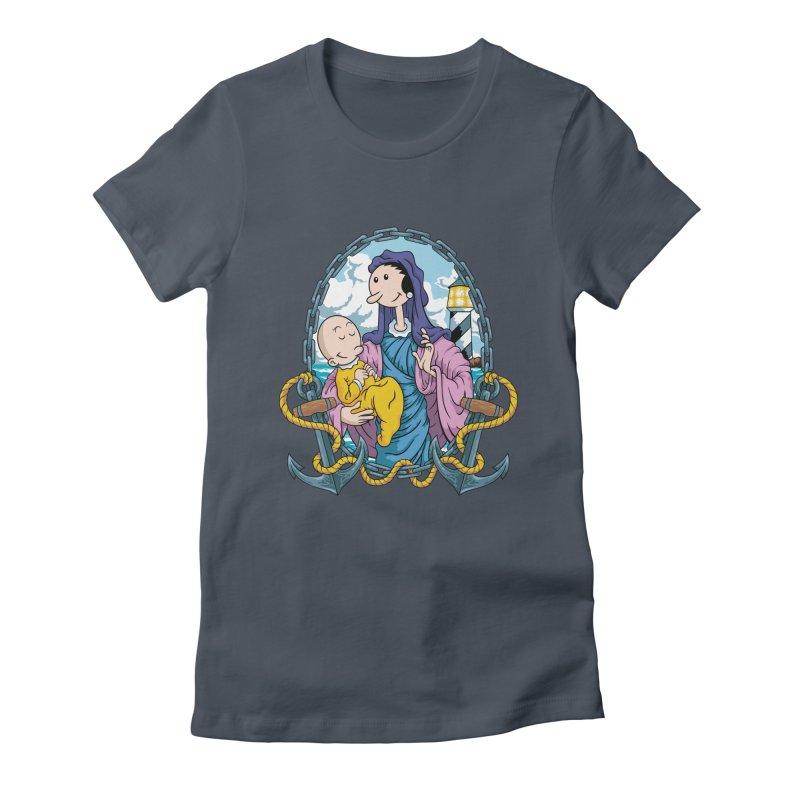 Virgin Olive Oyl Women's T-Shirt by bennygraphix's Artist Shop