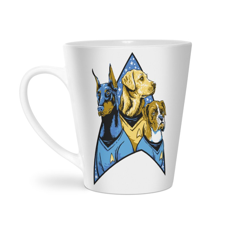 Bark Trek Accessories Latte Mug by bennygraphix's Artist Shop