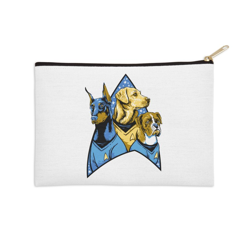 Bark Trek Accessories Zip Pouch by bennygraphix's Artist Shop