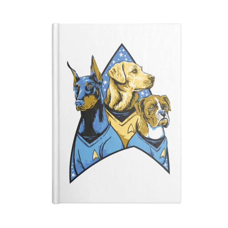 Bark Trek Accessories Lined Journal Notebook by bennygraphix's Artist Shop
