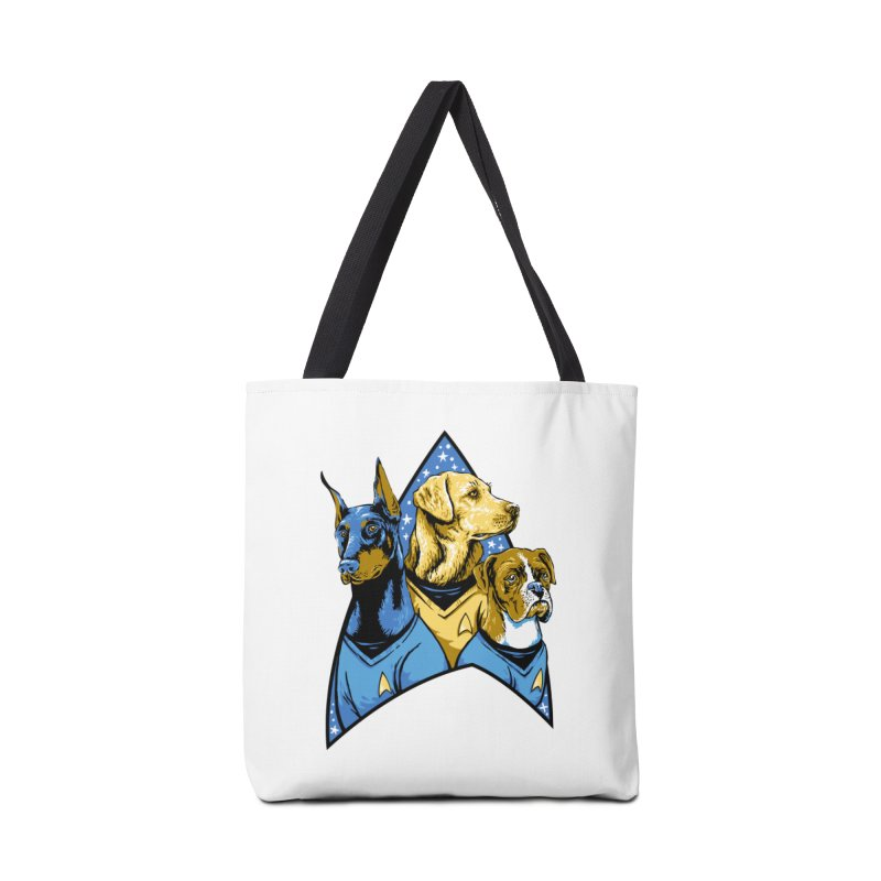 Bark Trek Accessories Tote Bag Bag by bennygraphix's Artist Shop