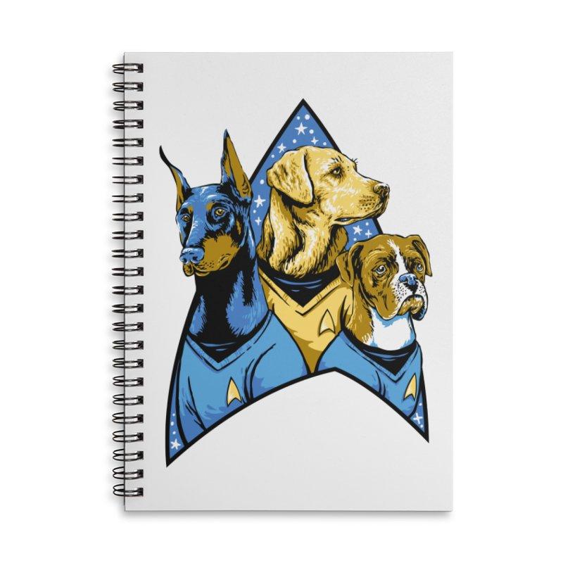 Bark Trek Accessories Lined Spiral Notebook by bennygraphix's Artist Shop