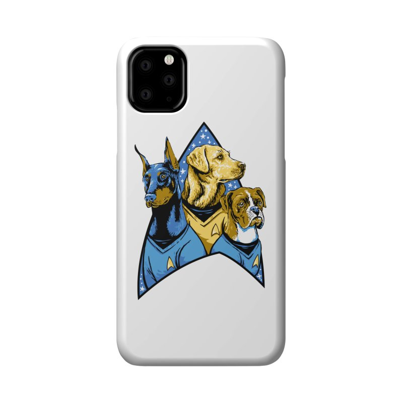 Bark Trek Accessories Phone Case by bennygraphix's Artist Shop