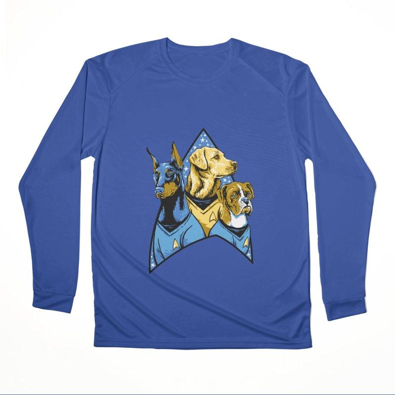 Bark Trek Men's Performance Longsleeve T-Shirt by bennygraphix's Artist Shop
