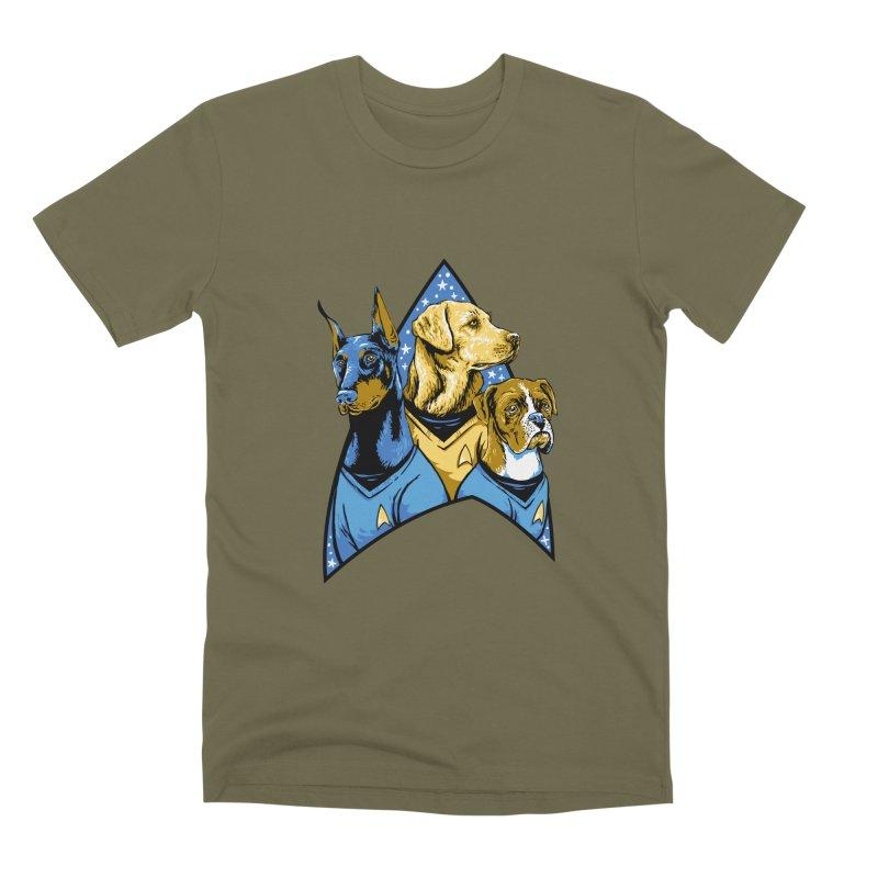 Bark Trek Men's Premium T-Shirt by bennygraphix's Artist Shop