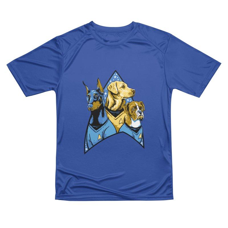 Bark Trek Men's Performance T-Shirt by bennygraphix's Artist Shop