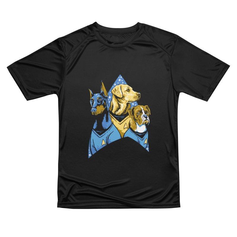 Bark Trek Women's Performance Unisex T-Shirt by bennygraphix's Artist Shop