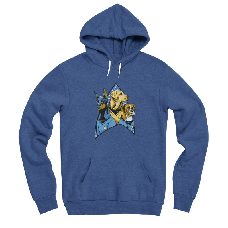 Bark Trek Men's Sponge Fleece Pullover Hoody by bennygraphix's Artist Shop