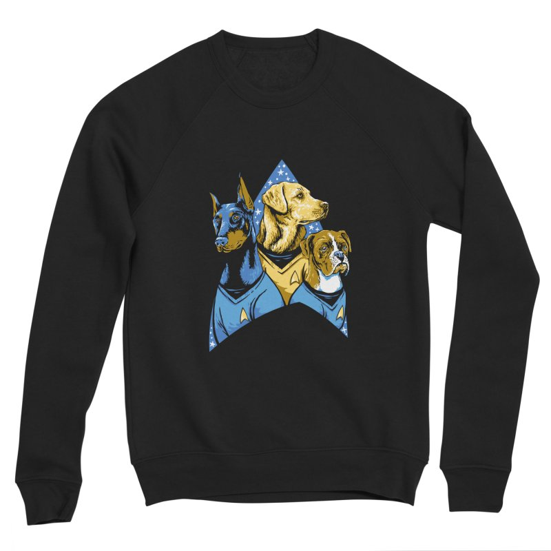 Bark Trek Men's Sponge Fleece Sweatshirt by bennygraphix's Artist Shop