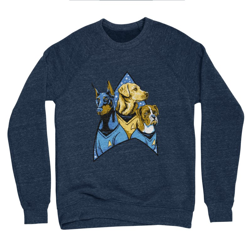 Bark Trek Women's Sponge Fleece Sweatshirt by bennygraphix's Artist Shop