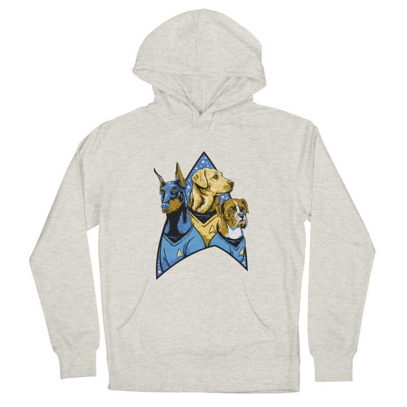Bark Trek Women's French Terry Pullover Hoody by bennygraphix's Artist Shop