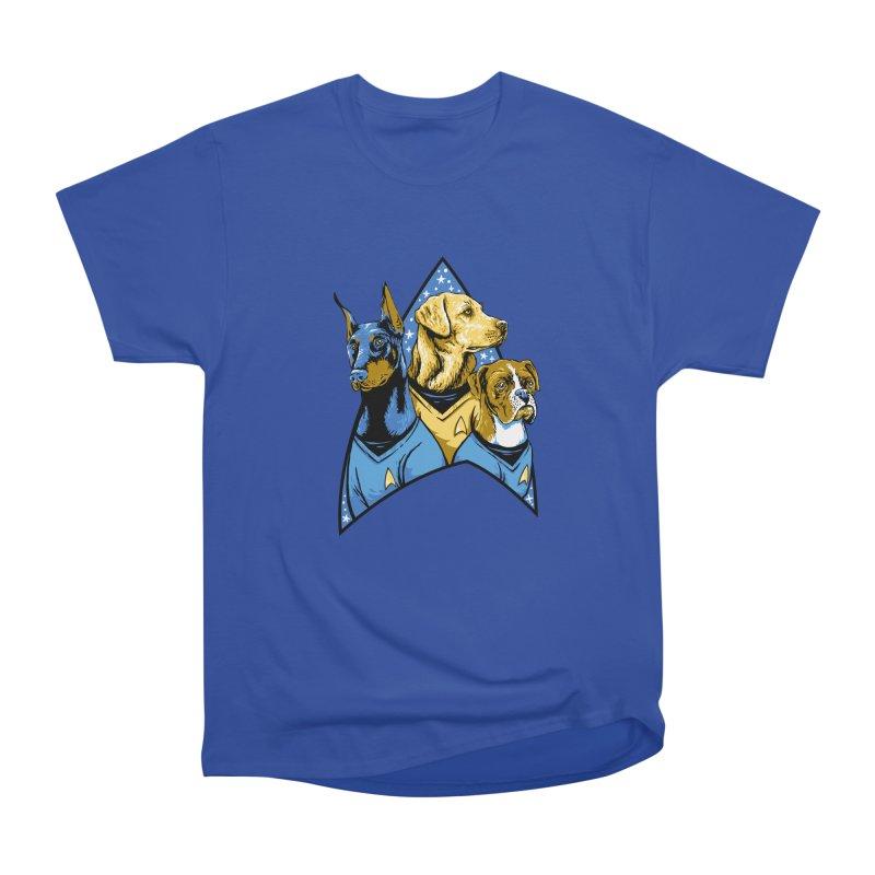 Bark Trek Women's Heavyweight Unisex T-Shirt by bennygraphix's Artist Shop