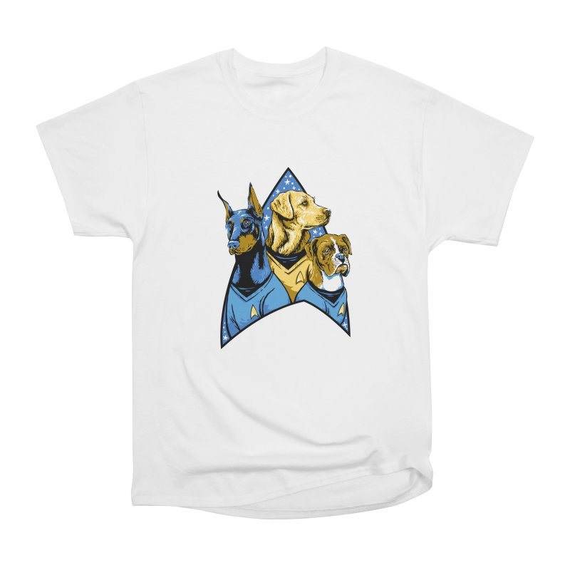 Bark Trek Men's Heavyweight T-Shirt by bennygraphix's Artist Shop