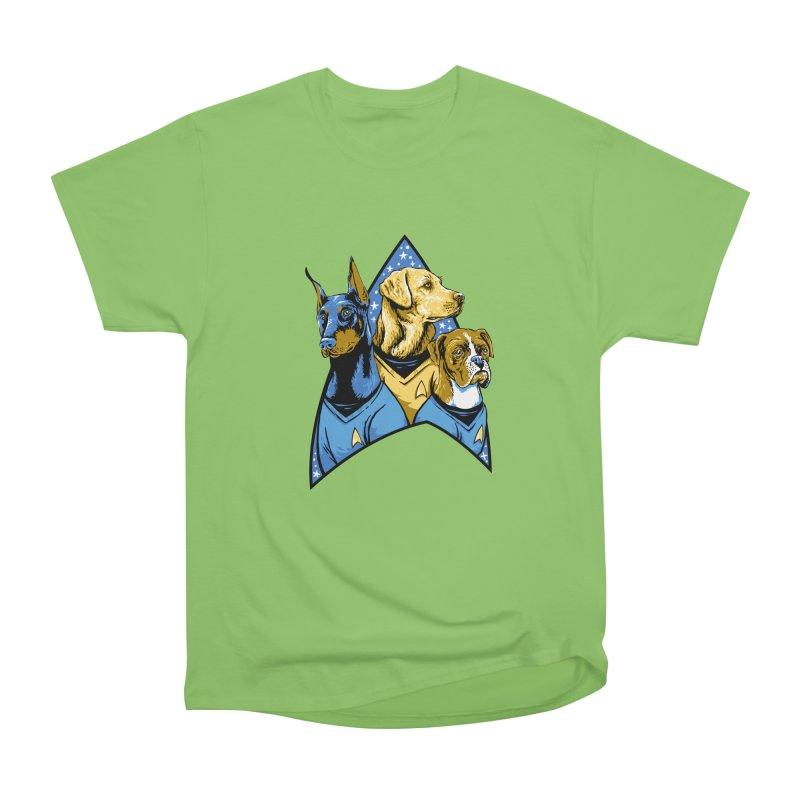 Bark Trek Men's Heavyweight T-Shirt by bennygraphix's Artist Shop