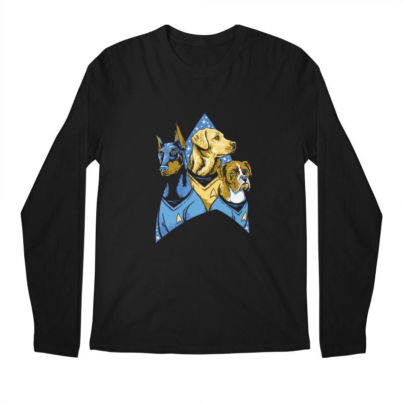Bark Trek Men's Regular Longsleeve T-Shirt by bennygraphix's Artist Shop