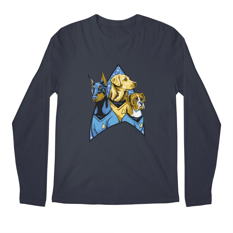 Bark Trek Men's Regular Longsleeve T-Shirt by bennygraphix's Artist Shop