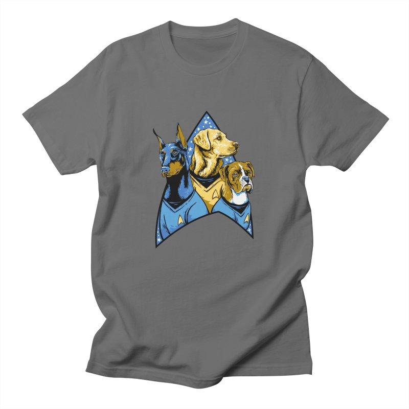 Bark Trek Men's T-Shirt by bennygraphix's Artist Shop