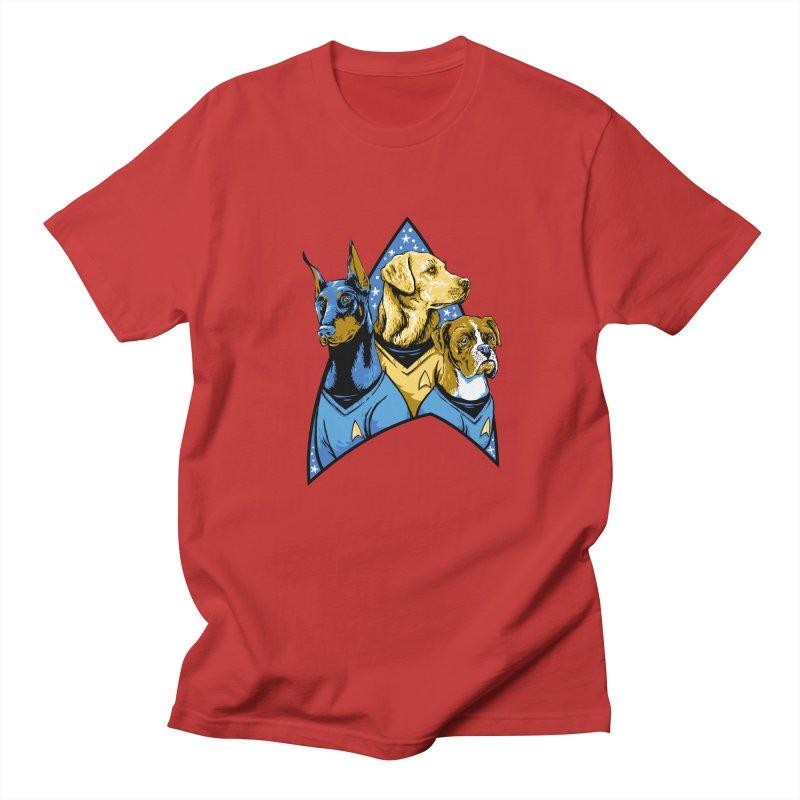 Bark Trek Men's Regular T-Shirt by bennygraphix's Artist Shop