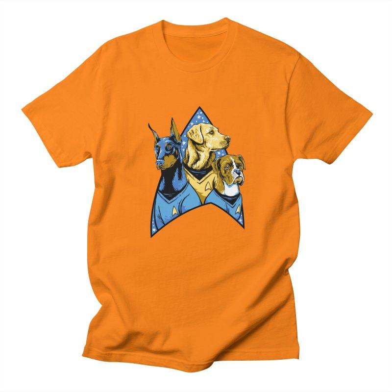 Bark Trek Women's Regular Unisex T-Shirt by bennygraphix's Artist Shop