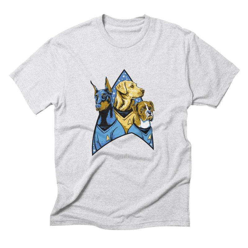 Bark Trek Men's Triblend T-Shirt by bennygraphix's Artist Shop