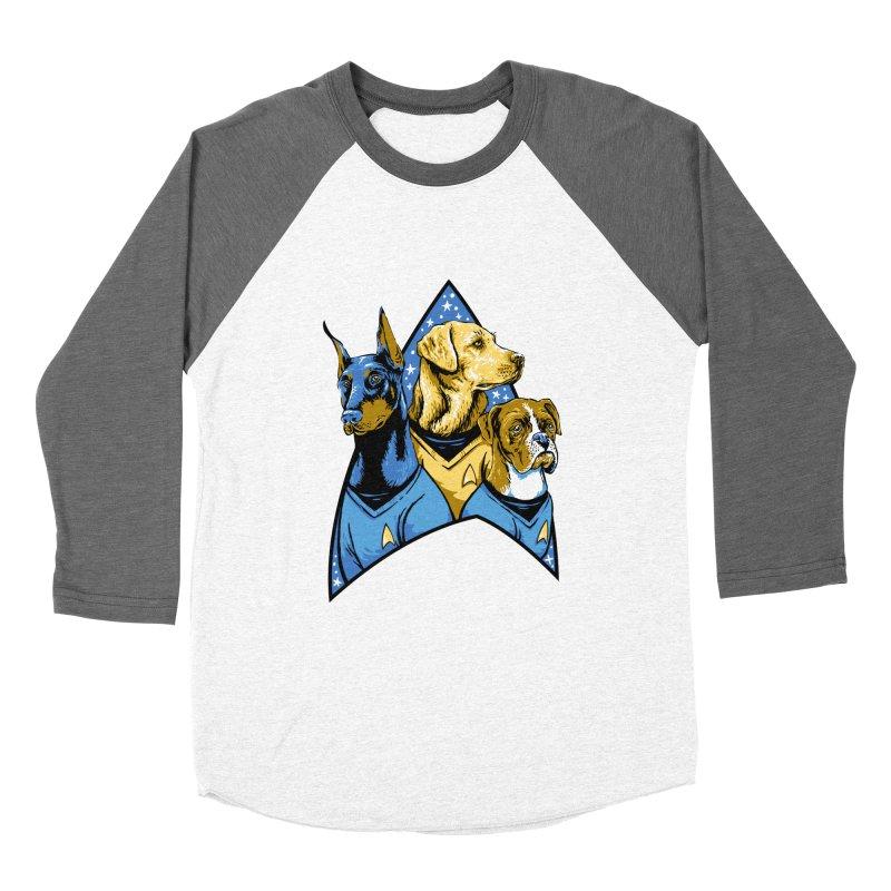 Bark Trek Women's Baseball Triblend Longsleeve T-Shirt by bennygraphix's Artist Shop