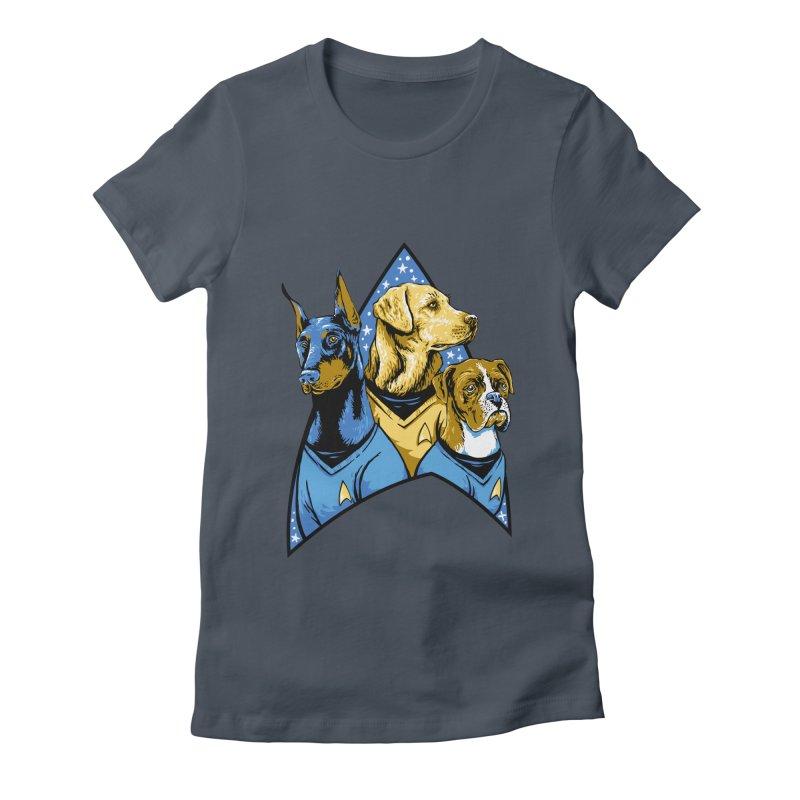 Bark Trek Women's T-Shirt by bennygraphix's Artist Shop
