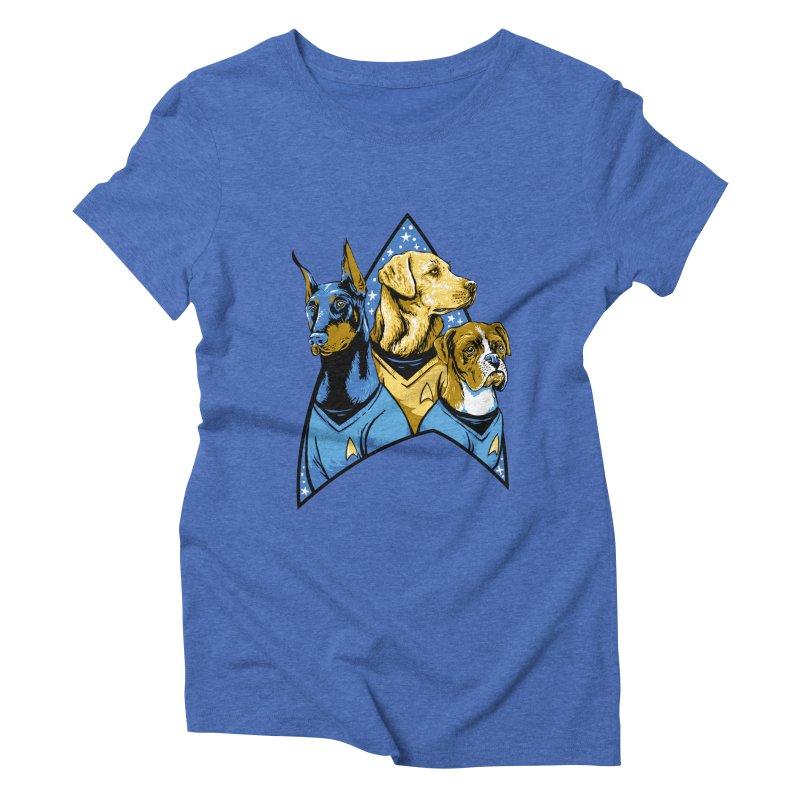 Bark Trek Women's Triblend T-Shirt by bennygraphix's Artist Shop