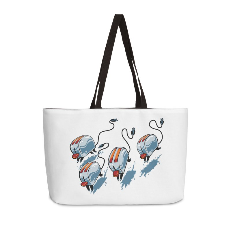 Wild Toasters Accessories Weekender Bag Bag by bennygraphix's Artist Shop