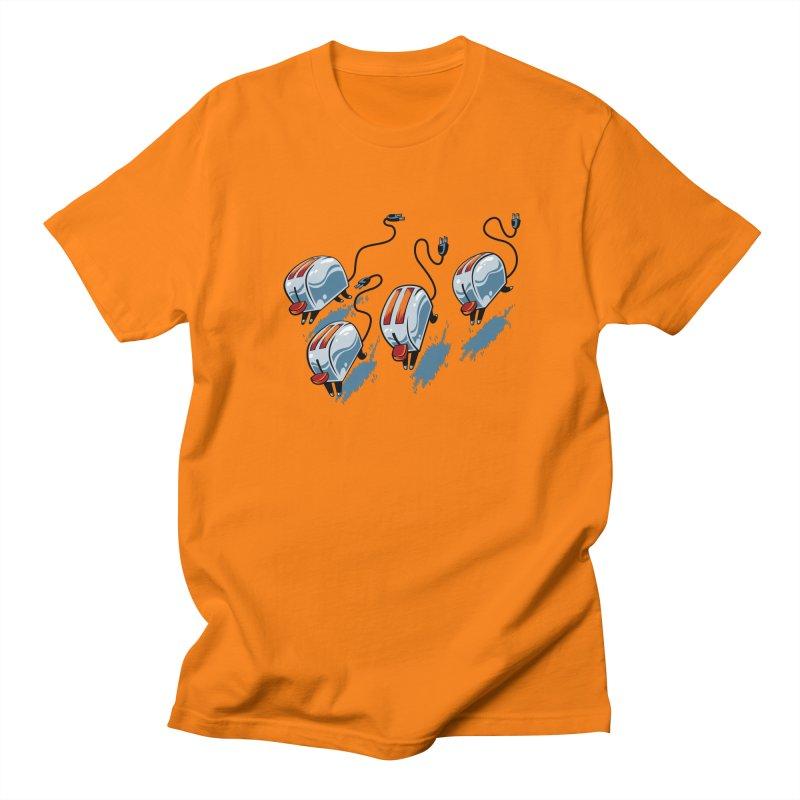 Wild Toasters Men's Regular T-Shirt by bennygraphix's Artist Shop