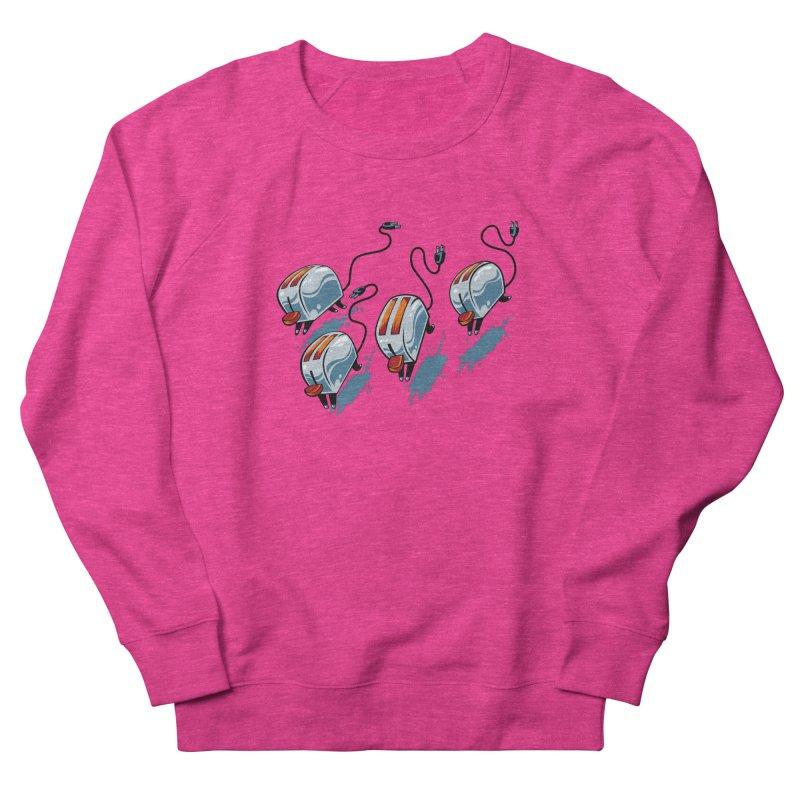 Wild Toasters Women's French Terry Sweatshirt by bennygraphix's Artist Shop